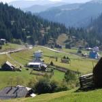 Peisaj din salâtul Drăgoiasa