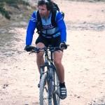 Biciclist în Călimani