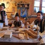 Atelier de sculpturâ în lemn