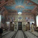 Iconostasul paraclisului (Biserica din Panaci)