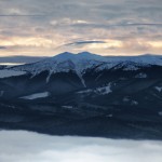 Vedere aeriană Munții Călimani
