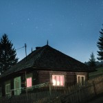Casă din satul Glodu