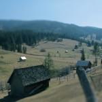 Peisaj din satul Glodu