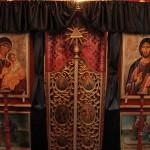 Ușă altar (Biserica din Glodu)