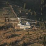 Mănăstirea Catrinari (vedere aeriană)